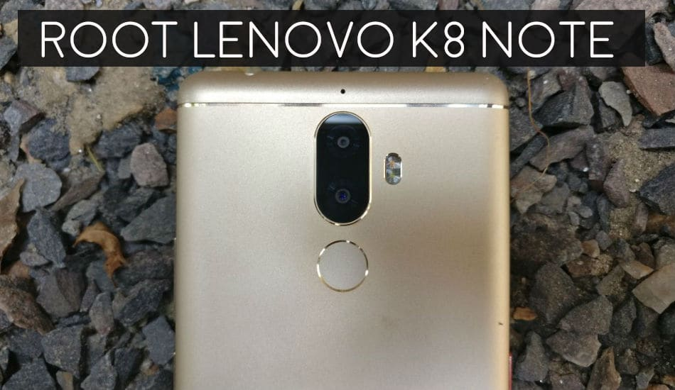install custom recovery and root lenovo k8 note