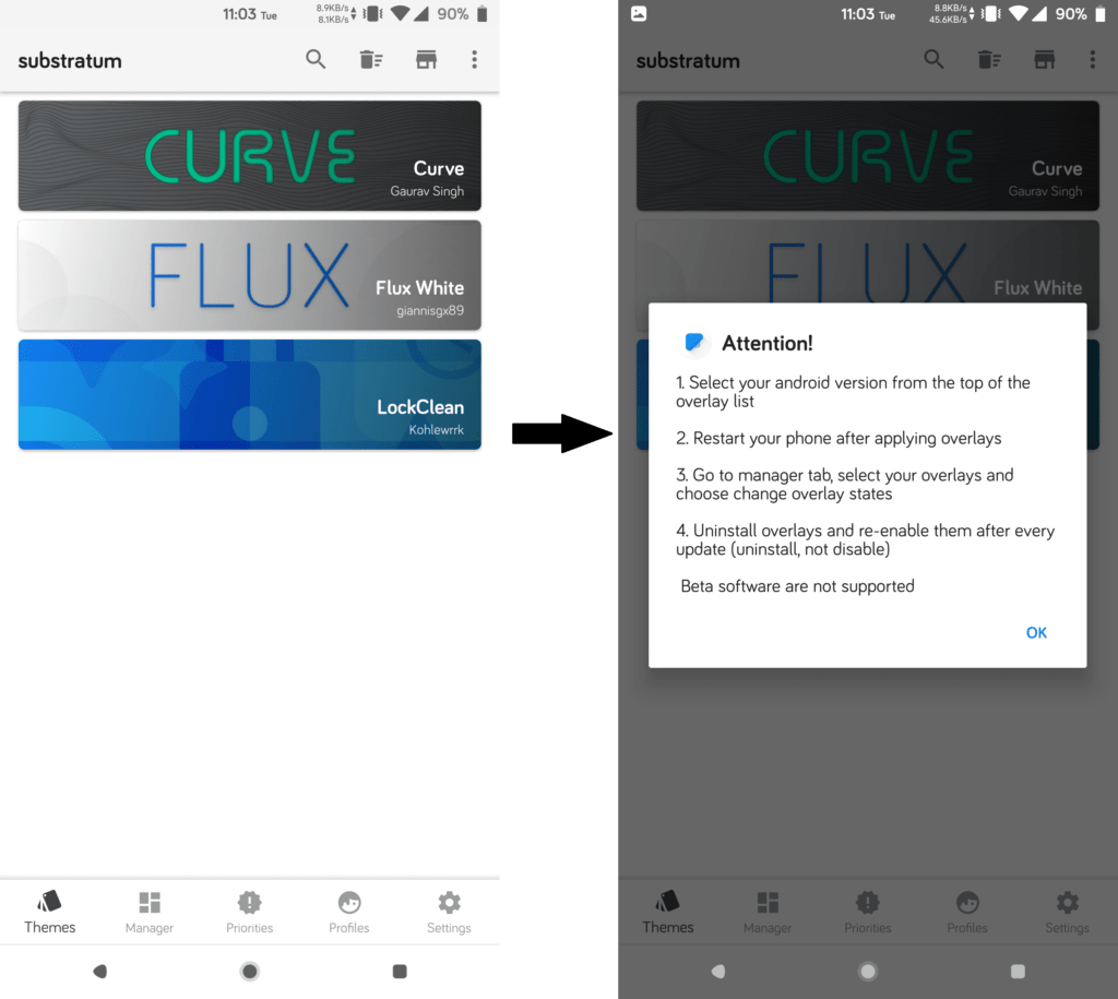 How to install Flux White