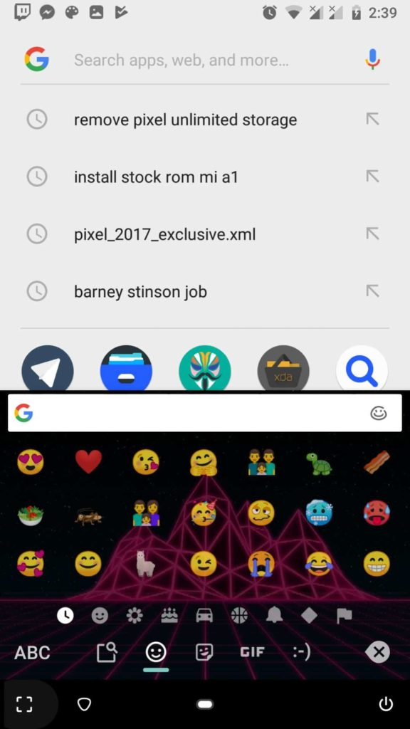 Android P Emojis and Fonts