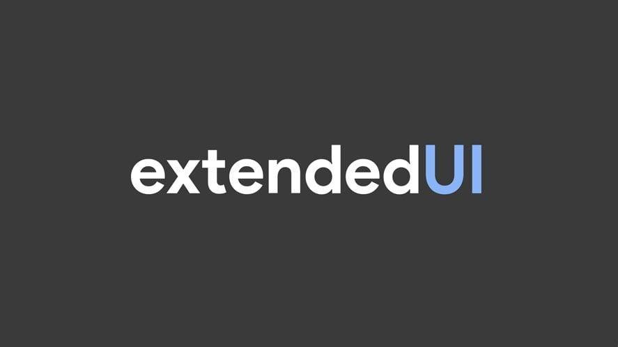 ExtendedUI