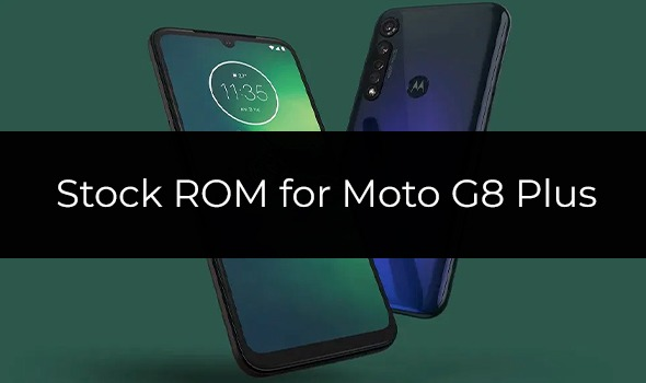 Stock Firmware for Moto G8 Plus