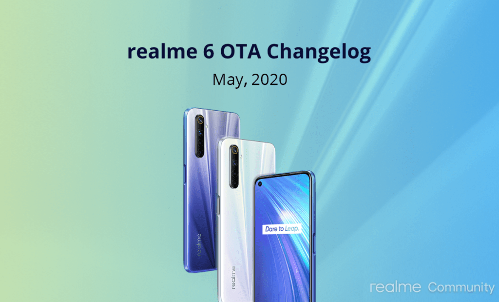 Realme 6 Update May 2020