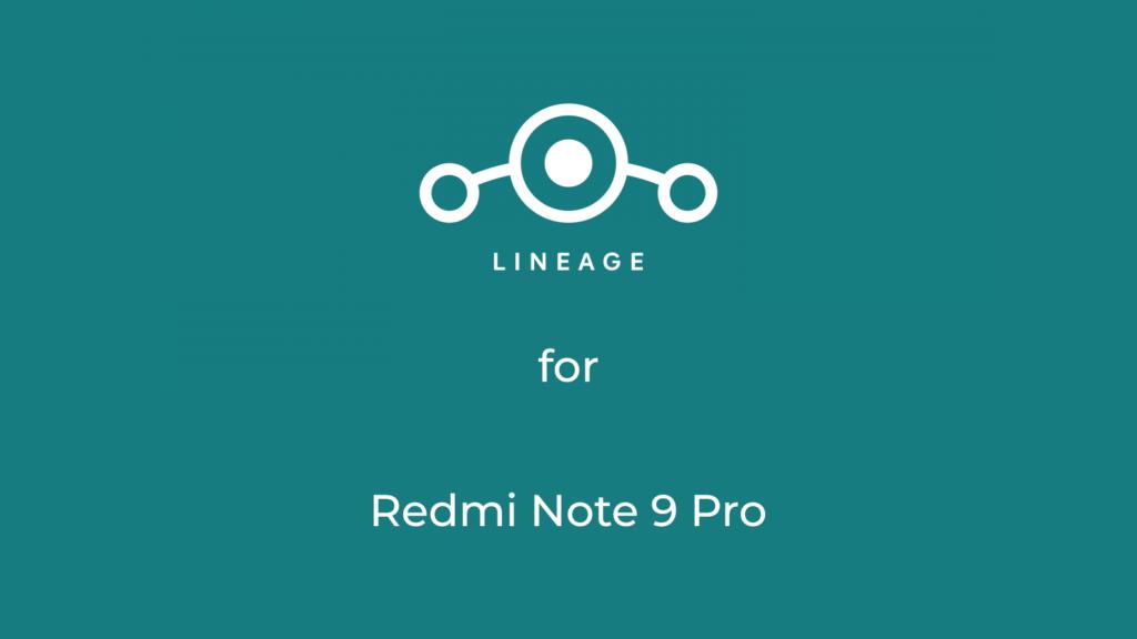LineageOS 17.1 for Redmi Note 9 Pro