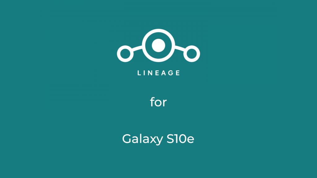 LineageOS 17.1 for galaxy s10e