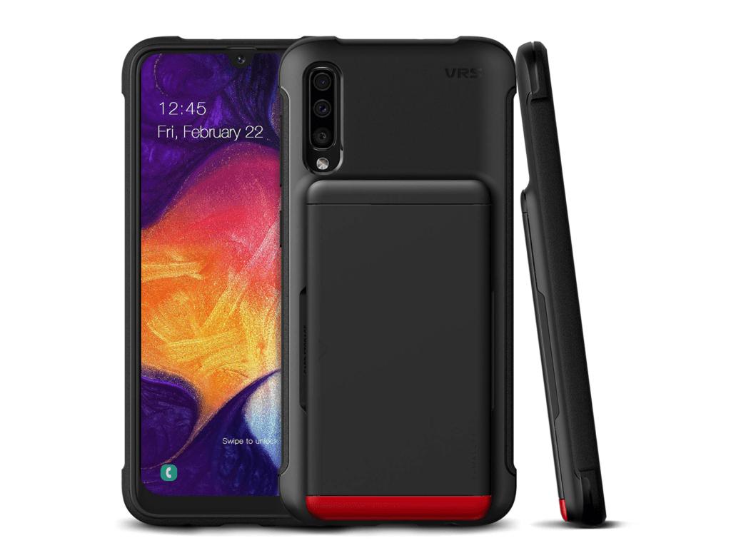 VRS Samsung A50 Wallet Case