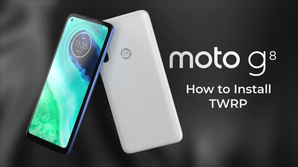 How to Install TWRP on Moto G8