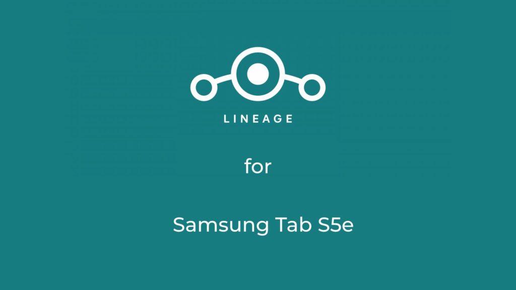LineageOS 18.1 for Samsung Galaxy S5e